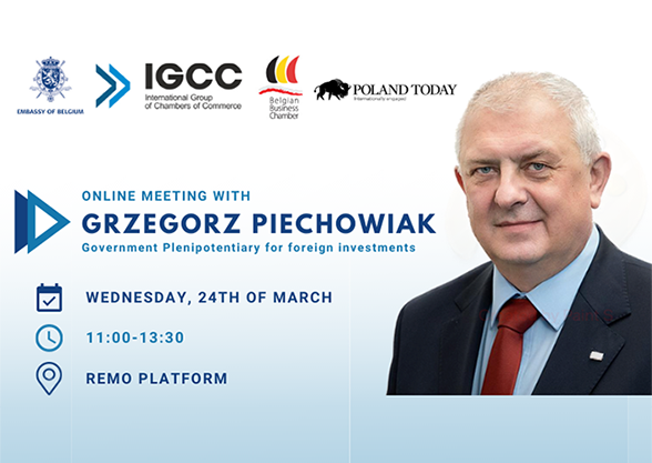 Online Meeting with Grzegorz Piechowiak Government Plenipotentiary for Foreign Investments